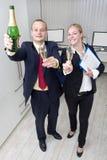 Celebração do negócio Imagem de Stock Royalty Free