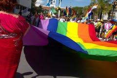 Celebração do orgulho alegre em Torremolinos, laga 3 do ¡ de MÃ foto de stock royalty free