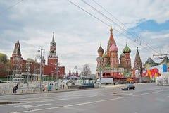Celebração do primeiro de maio em Moscou Imagens de Stock
