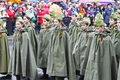 Celebração do 70Th aniversário de Victory Day Foto de Stock