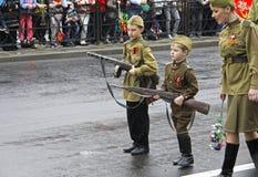 Celebração do 70Th aniversário de Victory Day Fotografia de Stock Royalty Free