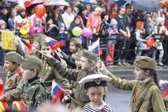 Celebração do 70Th aniversário de Victory Day Foto de Stock Royalty Free