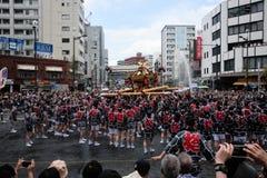 Celebração do verão de Japão fotografia de stock