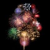 Celebração dos fogos-de-artifício Imagem de Stock