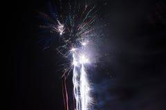 Celebração dos fogos-de-artifício Fotografia de Stock