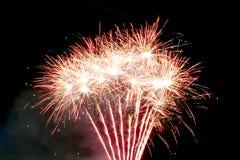 Celebração dos fogos-de-artifício Foto de Stock