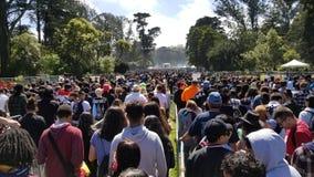 Celebração 420 em San Francisco California Imagem de Stock