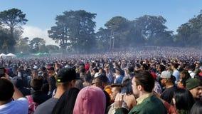 Celebração 420 em San Francisco California Fotografia de Stock Royalty Free