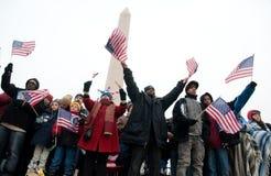 Celebração inaugural na alameda nacional Imagem de Stock