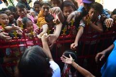 celebração lunar Semarang do ano 2567 novo Foto de Stock Royalty Free