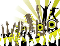 Celebração musical ilustração do vetor