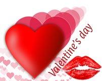 Celebração no dia do ` s do Valentim Fotos de Stock