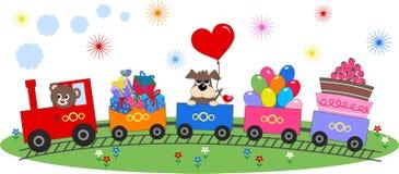 Celebração ou convite ilustração stock