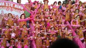 Celebração religiosa de Filipinas fotografia de stock