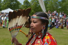 Celebração viva do dia aborígene em Winnipeg fotografia de stock