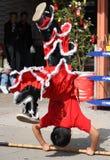 Celebrações chinesas do ano novo em Califórnia Fotografia de Stock Royalty Free