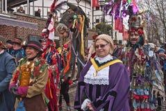 Celebrações da duodécima noite, Londres Reino Unido Imagens de Stock Royalty Free