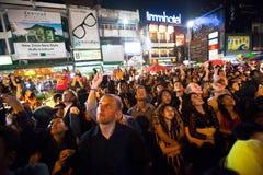 Celebrações do ano novo em Chiangmai, Tailândia Imagem de Stock