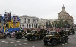 Celebrações do Dia da Independência em Kyiv, Ucrânia Foto de Stock