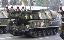 Celebrações do Dia da Independência em Kyiv, Ucrânia Imagens de Stock Royalty Free