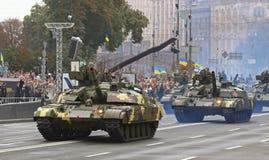 Celebrações do Dia da Independência em Kyiv, Ucrânia Fotos de Stock Royalty Free