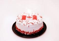 Celebrações do dia de Canadá Imagens de Stock Royalty Free