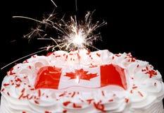 Celebrações do dia de Canadá Imagem de Stock