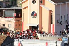 Celebrações do dia de St George em Rio de janeiro Fotos de Stock Royalty Free