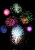 Celebrações do fogo-de-artifício Imagem de Stock