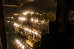 Celebrações do Hanukkah no Jerusalém imagens de stock