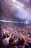 Celebrações dos Vancouver Canucks foto de stock