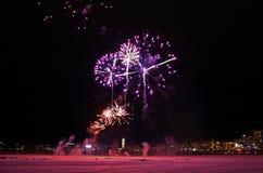 Celebrações tradicionais do ano novo em LuleÃ¥ Imagem de Stock