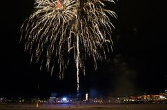 Celebrações tradicionais do ano novo em LuleÃ¥ Fotografia de Stock