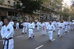 Celebra Japón 11 di Buenos Aires Immagini Stock Libere da Diritti