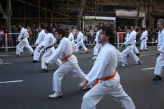 Celebra Japón 12 van Buenos aires Stock Foto's