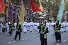 Celebra Japón 9 de Buenos Aires Imagenes de archivo
