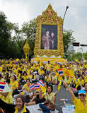 Celebra??o do anivers?rio do th do rei Bhumibol 85 Imagem de Stock