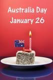 Celebración australiana del día de fiesta para el día de Australia, 26 de enero. Fotos de archivo