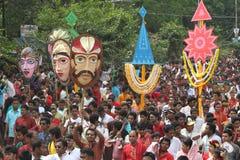 Celebración bengalí del Año Nuevo Fotografía de archivo libre de regalías