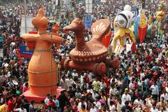 Celebración bengalí del Año Nuevo Fotografía de archivo