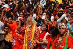 Celebración bengalí del Año Nuevo Foto de archivo