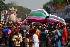 Celebración bengalí del Año Nuevo Fotos de archivo