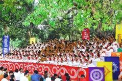 Celebración bengalí del Año Nuevo Foto de archivo libre de regalías