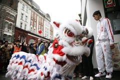 Celebración china del Año Nuevo, 2012 Imágenes de archivo libres de regalías