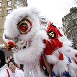 Celebración china del Año Nuevo, 2012 Foto de archivo libre de regalías