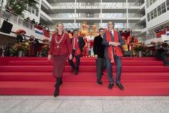 Celebración china 2019 del Año Nuevo foto de archivo