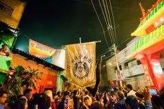 Celebración china del Año Nuevo en Kolkata Fotos de archivo