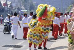 Celebración china del Año Nuevo en la KOH Samui Fotos de archivo libres de regalías