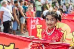 Celebración china del Año Nuevo en Tailandia Fotos de archivo libres de regalías