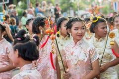 Celebración china del Año Nuevo en Tailandia Fotos de archivo